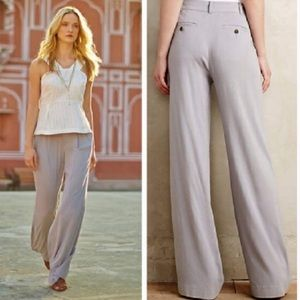 Cartonnier Light Gray Lightweight Wide Leg Pants